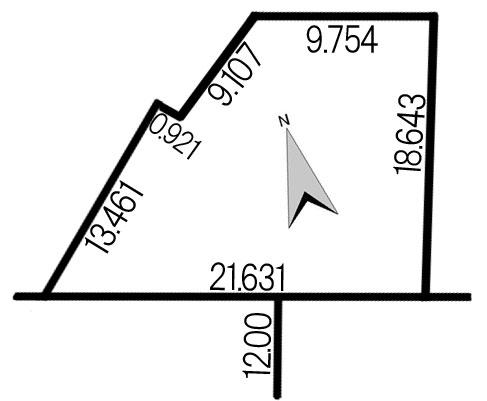 手稲区稲穂3条3丁目118-7地積