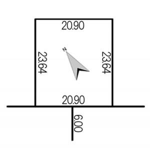 長沼町宮下1丁目地積図