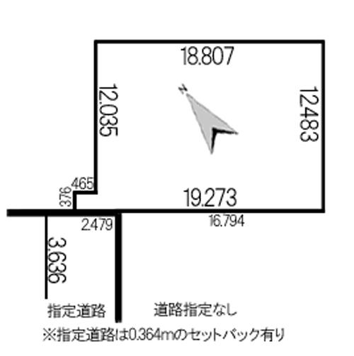 東苗穂9条2丁目748-4地積図